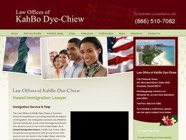 Law Offices of KahBo Dye-Chiew (Honolulu, Hawaii)
