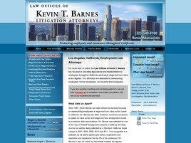 Law Offices of Kevin T. Barnes (Los Angeles, California)