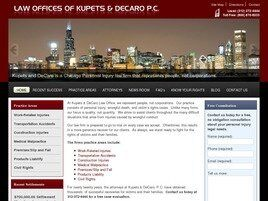 Law Offices of Kupets & DeCaro P.C. (Chicago, Illinois)