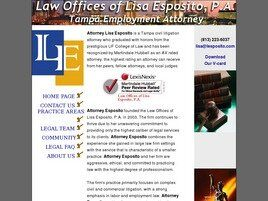Law Offices of Lisa Esposito, P.A. (Tampa, Florida)