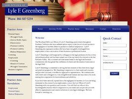 Law Offices of Lyle F. Greenberg (Los Angeles, California)