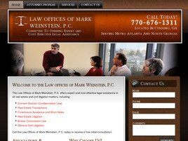 Law Offices of Mark Weinstein, P.C. (Cumming, Georgia)