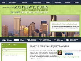 Law Offices of Matthew D. Dubin (King Co., Washington)