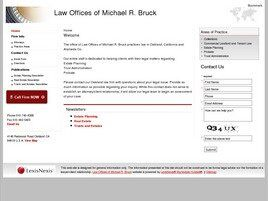Law Offices of Michael R. Bruck (Oakland, California)
