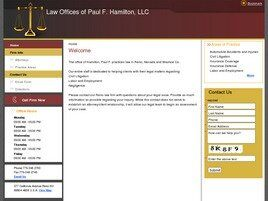 Law Offices of Paul F. Hamilton, LLC (Reno, Nevada)