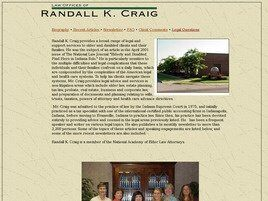 Law Offices of Randall K. Craig (Evansville, Indiana)