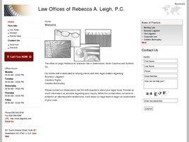 Law Offices of Rebecca A. Leigh, P.C. (Raleigh, North Carolina)