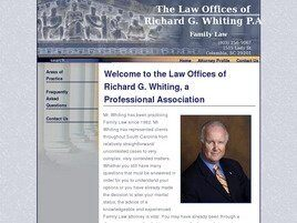 Law Offices of Richard G. Whiting A Professional Association (Greenville, South Carolina)
