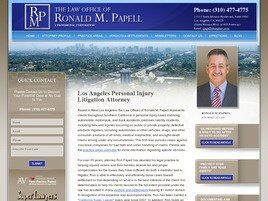 Law Offices of Ronald M. Papell (Los Angeles, California)