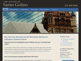 Law Offices of Santo Golino (New York, New York)