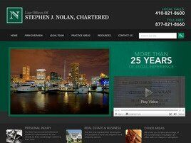 Law Offices of Stephen J. Nolan Chartered (Baltimore, Maryland)