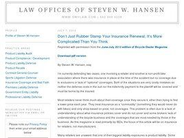 Law Offices of Steven W. Hansen (Oakland, California)