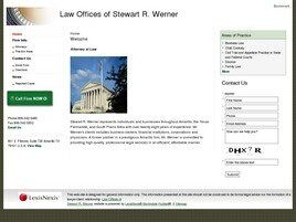 Law Offices of Stewart R. Werner (Amarillo, Texas)