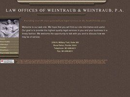 Law Offices of Weintraub & Weintraub, P.A. (Boca Raton, Florida)
