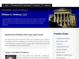 Law Offices of William A. Feldman, LLC (Fairfield, New Jersey)