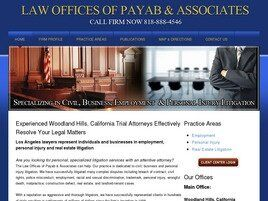 Law Offices Of Payab & Associates (Los Angeles, California)