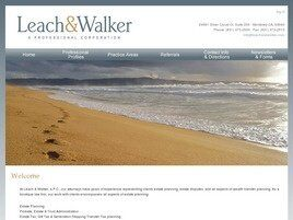 Leach & Walker A Professional Corporation (Monterey, California)