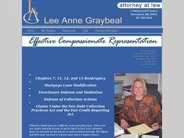 Lee Anne Graybeal Esq. (Saco, Maine)
