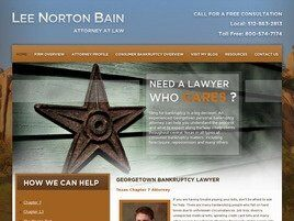 Lee Norton Bain Attorney at Law (Georgetown, Texas)