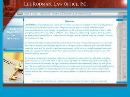 Lee Rodman, Law Office, P.C. (Colorado Springs, Colorado)