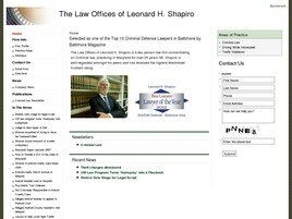 Leonard H. Shapiro (Westminster, Maryland)