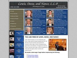 Lewis, Deese & Nance, L.L.P. Attorney at Law (Fayetteville, North Carolina)