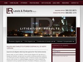 Lewis & Roberts, P.L.L.C. (Wake Co., North Carolina)