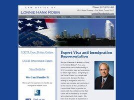Lonnie Hank Robin (Fort Worth, Texas)