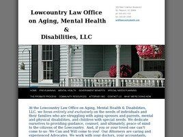 Lowcountry Law Office on Aging Mental Health & Disabilities, LLC (Mount Pleasant, South Carolina)