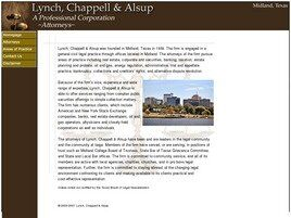 Lynch, Chappell & Alsup A Professional Corporation (Midland, Texas)
