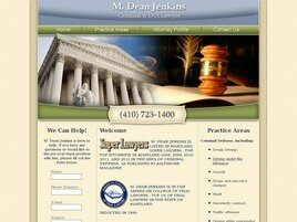 M. Dean Jenkins Criminal and DUI Lawyer (Salisbury, Maryland)