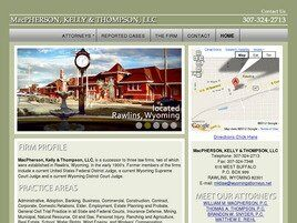 MacPherson, Kelly & Thompson, LLC (Carbon Co., Wyoming)