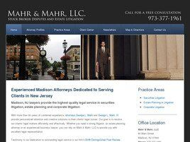 Mahr & Mahr, LLC (Union Co., New Jersey)
