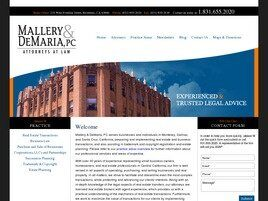 Mallery & DeMaria, PC Attorneys at Law (Monterey, California)