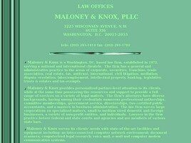 Maloney & Knox, PLLC (Washington, District of Columbia)