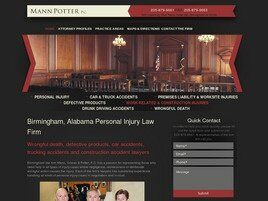 Mann & Potter, PC (Montgomery, Alabama)