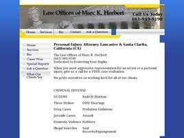 Marc Herbert Law Firm (Lancaster, California)