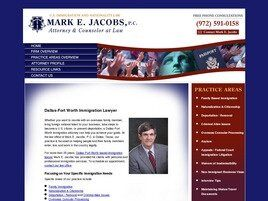 Mark E. Jacobs, P.C. (Dallas, Texas)