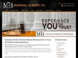 Marshall & Berry, P.A. (West Palm Beach, Florida)