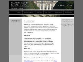 Martin, Gunn & Martin A Professional Corporation (Camden Co., New Jersey)