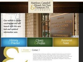 Matthews, Campbell, Rhoads, McClure & Thompson Professional Association (Rogers, Arkansas)