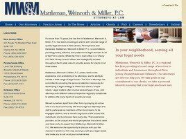 Mattleman, Weinroth & Miller A Professional Corporation (Cherry Hill, New Jersey)
