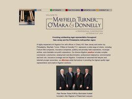 Mayfield, Turner, O'Mara & Donnelly PC (Camden Co., New Jersey)