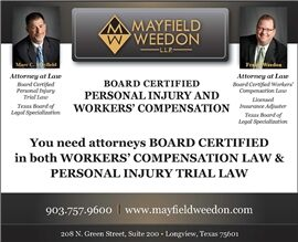Mayfield Weedon, L.L.P. (Longview, Texas)
