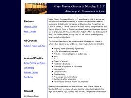 Mays, Foster, Gunter & Murphy, LLP (Columbia, South Carolina)