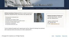 McPharlin Sprinkles & Thomas LLP (San Jose, California)
