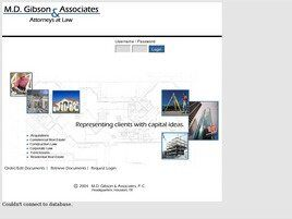 M.D. Gibson & Associates, P.C. (Houston, Texas)