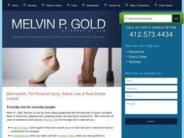 Melvin P. Gold, LLC (Pittsburgh, Pennsylvania)