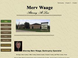 Merv Waage, Attorney at Law (Denton, Texas)