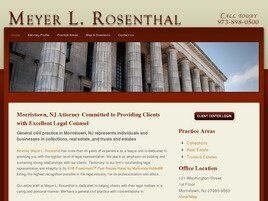 Meyer L. Rosenthal (Morristown, New Jersey)
